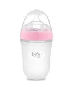 Bình sữa silicon FATZ BABY 240ml màu hồng FB0240CH